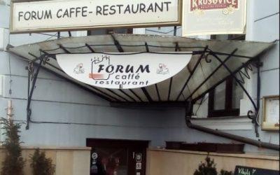 FORUM CAFFE – RESTAURANT