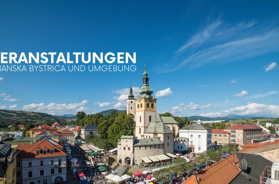 Veranstaltungen Banská Bystrica und Umgebung – NOVEMBER 2019