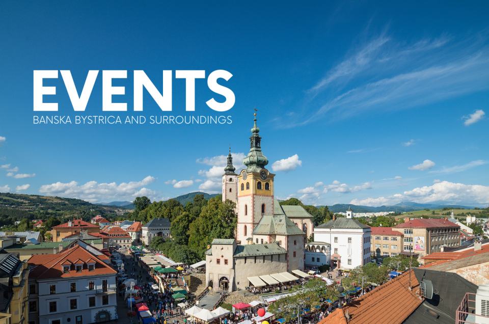 Events in Banská Bystrica and surroundings – NOVEMBER 2019