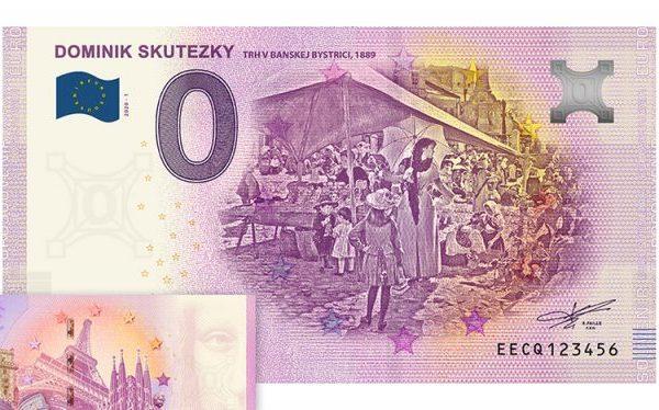 Nová Eurobankovka s nulovou hodnotou v predaji